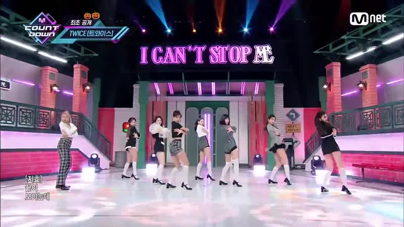 201029 TWICE - I CAN'T STOP ME @ M! Countdown