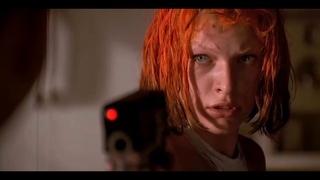 Корбен поцеловал Лилу ... отрывок из фильма (Пятый Элемент/The Fifth Element)1997