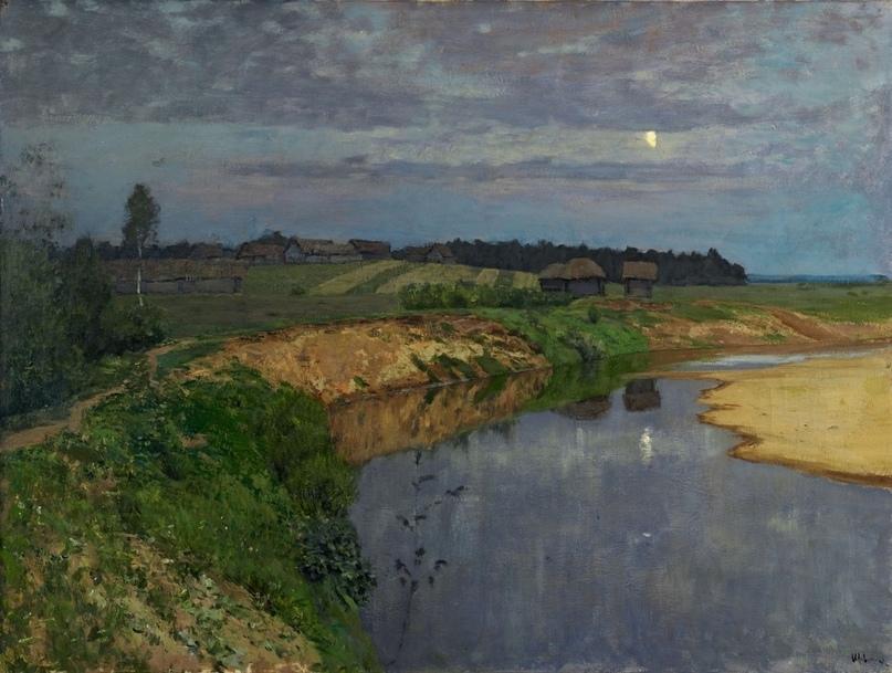 """""""Тишина"""". 1898г. ГРМ"""