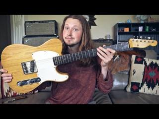 Rare 1950s Fender Esquire Lives Again - REPAIRS & DEMO!