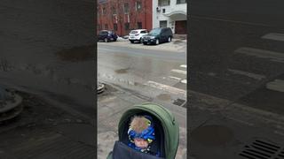 Как правильно переходить дорогу с коляской
