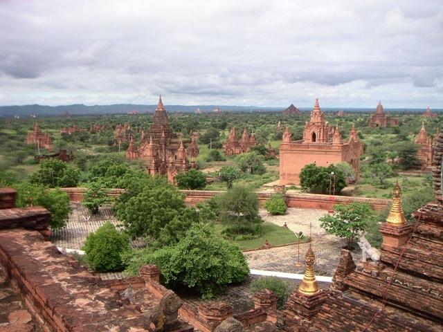 Древний город Баган в Бирме, изображение №2