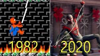 Evolution of Spider-Man Games 1982-2020