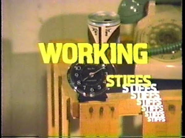 WORKING STIFFS 1979 TV SITCOM TV SERIES TV PILOT EPISODE 1 MICHAEL KEATON JIM BELUSHI