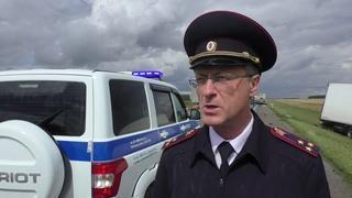 Заместитель начальника УГИБДД УМВД России по Омской области полковник полиции Игорь Триколе