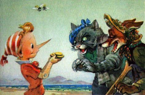 У Пиноккио и Буратино был реальный прототип... Его звали Пиноккио Санчес (17901834), он был карликом, отслужил в армии 15 лет. Во время учений в горах сорвался со скалы, переломав себе нижние