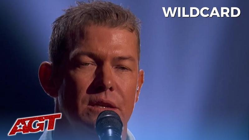 Matt Mauser Gives HEART WRENCHING Wildcard Performance on AGT