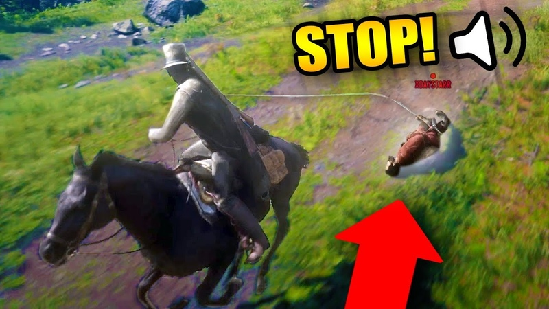 I FEEL BAD FOR DOING THIS Red Dead Redemption 2 Online Outlaw Life 16
