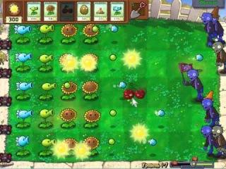 Plants vs. Zombies: Прохождение Уровеня 1-7 c Жирным Задротом [Day]