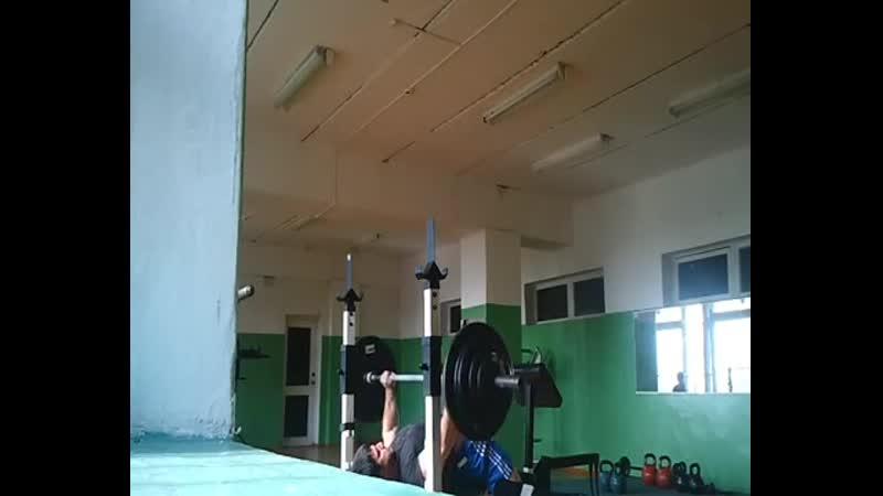 Эльбрус Мамалиев Жим лёжа 155 кг