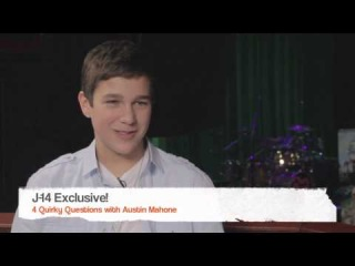 J-14 Exclusive Video: 4 Quirky Questions with Austin Mahone