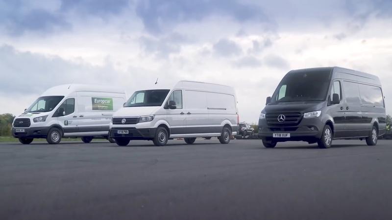 Mercedes Sprinter vs Ford Transit vs Volkswagen Crafter СОРЕВНОВАНИЯ ПО ПРЯМОЙ НА ФУРГОНАХ