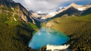 Above the Rocky Mountains - Banff in 4K Nature Relaxation™ Ambient Aerial Film Music for Healing