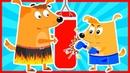 Развивающие мультики для детей. Детские мультфильм для подростающего поколения Бублик и Кисточка