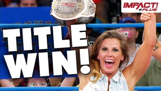 Mickie James Wins Knockouts Championship! (May 23, 2013)   Classic IMPACT Wrestling Moments