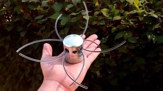 Улучшенная универсальная металлическая катушка для триммера  с боковым винтом фиксации лески