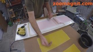 Силиконовая форма для изготовления вощины в домашних условиях