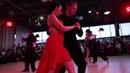 Pavel Sobiray and Nadezda Pivovarova Милонга России Полуфинал танец 2