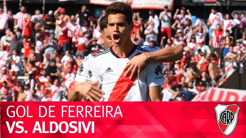 Gol de Cristian Ferreira vs. Aldosivi