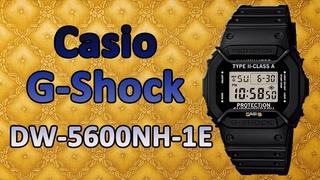 Неубиваемые мужские часы Casio G-Shock DW-5600NH-1E купить в Москве