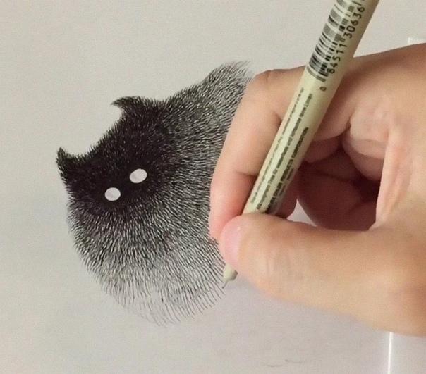 Малайский художник Камвэй Фонг (псевдоним - Бо