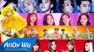 IDOL (Ultimate MEGAMIX) - BTS & Nicki, BLACKPINK, 2NE1, BIGBANG, PSY, AGrande, Shakira, Beyonce