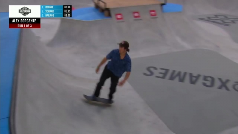 Alex Sorgente wins Men's Skateboard Park gold _ X Games Minneapolis 2018