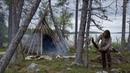 Bushcraft trip - making tipi - permanent tipi camp series - [part 1 - long version]