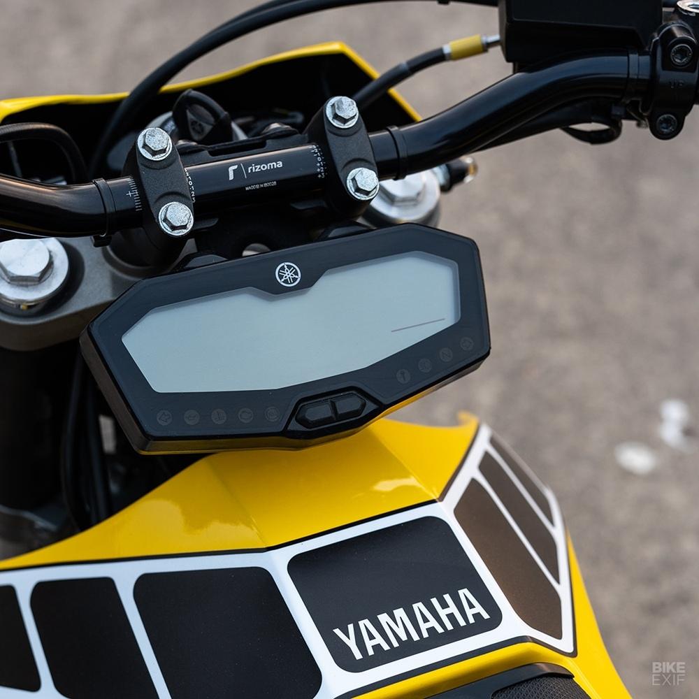 Эндрю Стэгг: кастом Yamaha MT-07