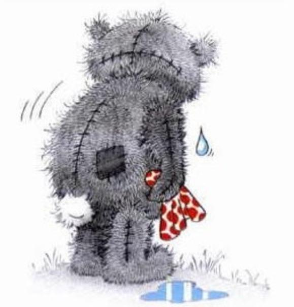 плачущий мишка тедди картинки как один