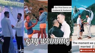 Cute Gay Men Wedding | TikTok Compilation 2021