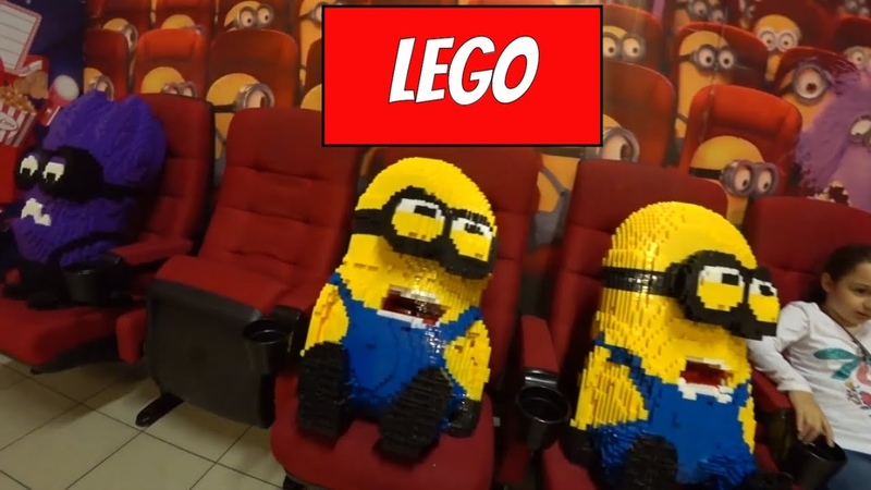 LEGO МУЗЕЙ МИНЬОНЫ МАРИО СУПЕРМЕН И ПИНГВИНЫ ИЗ МАДАГАСКАРА КТО ТО СЛОМАЛ ФИГУРЫ