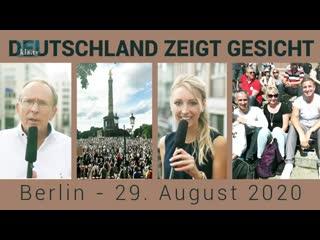 Deutschland zeigt Gesicht _ Berlin - 29. August 2020 _Doku_ _ 30. August 2020