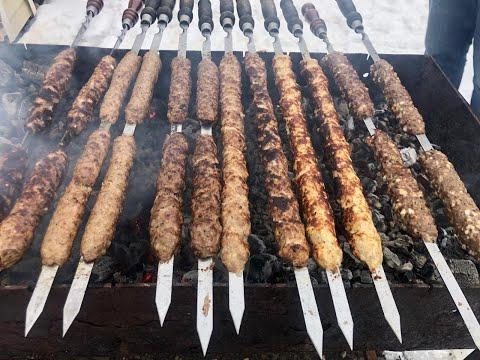 Супер сочный люля кебаб из курицы, из индейки, из говядины, из баранины и с добавлением сыра