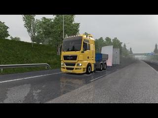 ETS2  open beta - Euro Truck Simulator 2 - Man TGX Euro5 - Naturalux