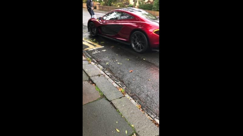 I seen a McLaren P1 today!