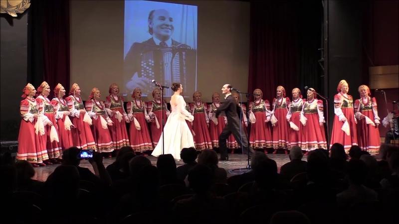Падает снег Хор Симонова Слобода и танцевальная пара ансамбля Бруно Белоусова