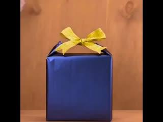 Как красиво упаковывать подарки