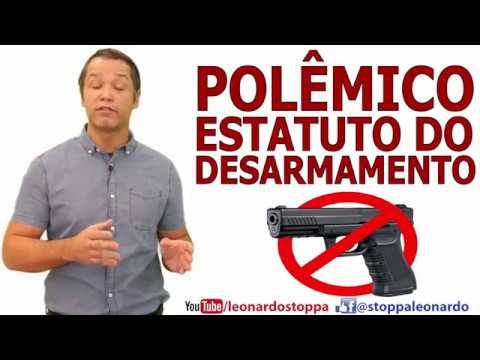 Polêmico Estatuto do Desarmamento