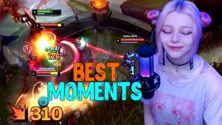 Лучшие Моменты League of Legends | BEST MOMENTS | Пикап От Medved_ede | Фанаты Smurf_tv