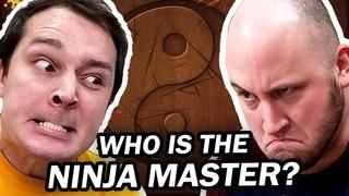 WHO IS THE NINJA MASTER? - Let's Play Fruit Ninja Kinect!