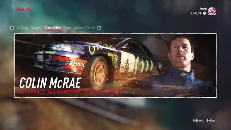 Dirt Rally Colin McRae history Tier 1 fock off