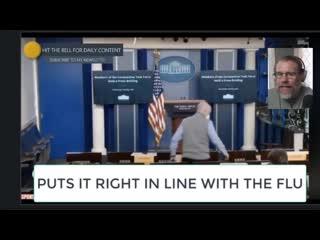 Conversation Enregistre  Furtivement  entre deux journalistes accrdits  la Maison Blanche