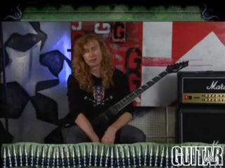Guitar World Presents: Dave Mustaine - Symphony of Instruction Lesson