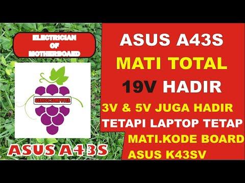 Laptop Asus A43S Mati Total