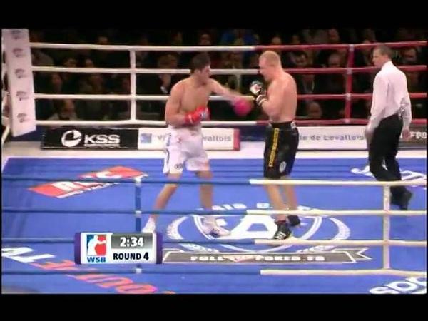 Filip Hrgovic vs Sergei Kharitonov World Series Boxing