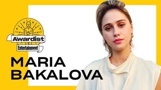 'Borat' Star Maria Bakalova On Working w/ Sacha Baron Cohen  | The Awardist | Entertainment Weekly