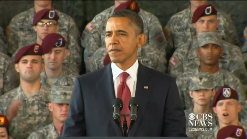 Obama to Iraq war vets_ Welcome Home