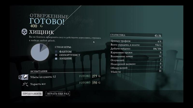 Thief Глава 5 Отверженные FULL 100%