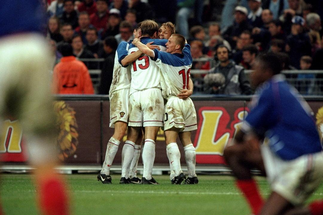 Франция - Россия 2:3. 5 июня 1999 года